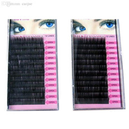 Wholesale Cheap Fake Eyelashes - Wholesale-2pcs 8 10 12 14mm Cheap False Eyelashes Mink Fake Eyelash Extension Eyelashes Eye Lashes Makeup