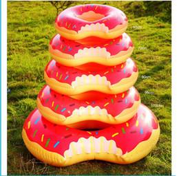 Wholesale Bathtub Inflatable Pool - float swim pool Water toy swimming bathtub inflatable pool tubes Donut Swim Ring baby inflatable swimming rings