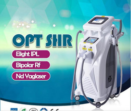 Wholesale Ipl Hot - hot powerful multifunctional IPL opt shr elight nd yag laser hair removal tattoo removal for beauty salon