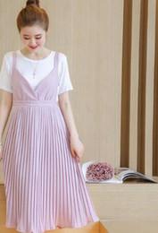 Wholesale Denim Dresses For Pregnant Women - Summer M-XXL Denim Maternity Dresses Clothe For Pregnant Women Clothing O-neck Short Sleeve pink Colors Slim Pregnancy Dress