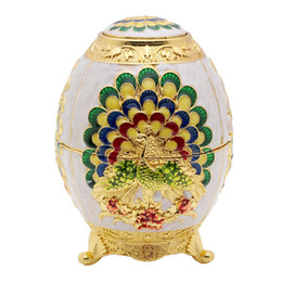 Wholesale egg shaped boxes - Wholesale- Egg Shaped Toothpick Holder Box Ornaments Decor With Bottle Openers Supplies