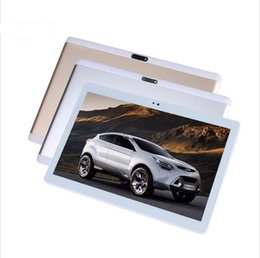Wholesale Wholesale 4g Phones China - 10.1 inch 3G 4G LTE Octa Core tablets Android 7.0 Dual SIM Phone Call wifi Bluetooth GPS FM 2GB 32GB 1920*1200 HD Tablet PC 9 10
