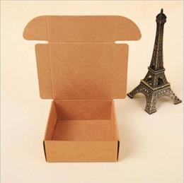 scatole di imballaggio del sapone di kraft Sconti Nuovo design Joy Kraft Scatole di cartone Sapone fatto a mano Imballaggio Scatola Handmand Confezione regalo Scatole Kraft 2 dimensioni possono scegliere