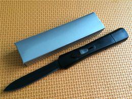 Wholesale Mini Key Knife - Hot! Mini Mic-tech MT halo v troodon scarab action Tachyon 3 Double action 440 Single Blade Key camping knife outdoor Tactical knife