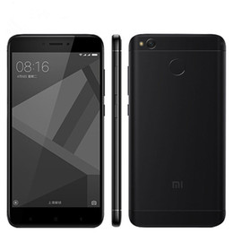 "Wholesale Pink Tv Mobile - Original Xiaomi Redmi 4X Mobile Phone Snapdragon 435 Octa Core 2GB 3GB 4GB RAM 16GB 32GB 64GB ROM 5.0"" 13.0MP Fingerprint 4G LTE Cell Phone"
