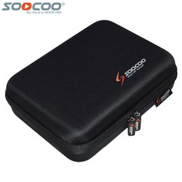 Wholesale Video Heads - Wholesale- Original SOOCOO Action Video Camera Bag Storage Collection Protective Nylon Case Box for C30 C30R S60 S60B S70 2K Wifi Sport DV