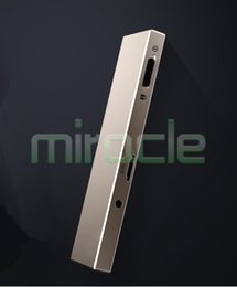 Wholesale Mm Records - Wholesale- HBNKH H-R610 8G golden intelligent recorder, 7 mm ultra-thin design, double microphones, time recording, Long audio mp3