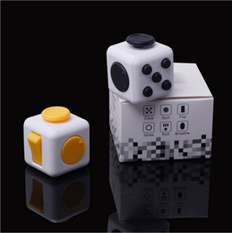 Wholesale First Big - 11color 2017 New Fidget cube world's first American decompression anxiety Toys Free shipping E1674 free shipping