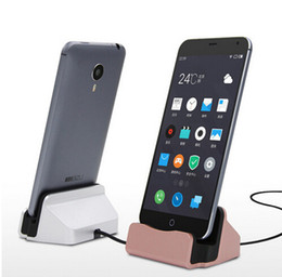 Wholesale Galaxy S4 Docking Station - Universal Phone Stand Holder Micro USB Charging Dock Station Charge Charger for Samsung Galaxy S4 J5 Note 4 Oneplus HTC Android