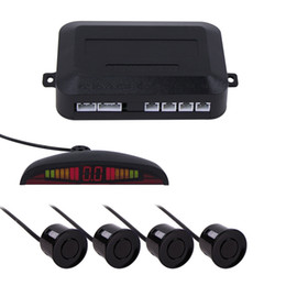 Wholesale Park Sensor Set - 7 colors Sensor Kit Car Auto LED Display 4 Sensors For All Cars Reverse Assistance Backup Radar Monitor Parking System 1 Set