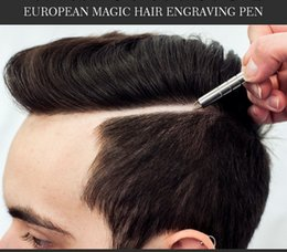 Wholesale New Arrival Salon Magic Engraved Pen Stainless Steel Pen Razor for Hair Styling Eyebrows and Beards Multi Purpose Razor