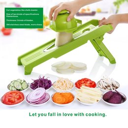Wholesale Potato Vegetable - Vegetable slicers, Potato cutters, Kitchen tools, DIY cooking tools, Fruit slices, 304 stainless steel planers,Onion slicer.