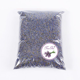 Wholesale Organic Lavender - Fragrant Lavender Buds Organic Dried Flowers Wholesale, Ultra Blue Grade - 1 Pound