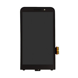 Для Цифрователя экрана касания дисплея LCD версии ежевики Z30 4G с агрегатом рамки Шатона полным от Поставщики s4 мини-синий