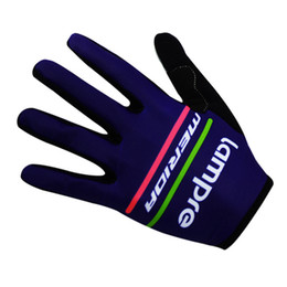 Wholesale long bicycle - long Cycling Gloves Bike Bicycle Sport Gloves Guantes Ciclismo GEL pad Shockproof Gants Half Fingersport