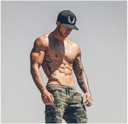 Wholesale Workout Cloths - New 2017 Men's fitness bamboo fiber Pants Workout Cloth Sporting Active exercise Pants Men Joggers Pants