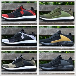 Wholesale Day Light Running - Adidas Originals 2018 Ado Pure Boost ZG DAY ONE Ultra Boost Summer Mesh Breathable Running Fashion Sneaker Men's Sports Shoes Eur 40-45