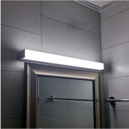 Wholesale Bathroom Mirror Light Fixtures - new led mirror light 7w 8W 10W 14w 16w 1ft 2ft 700mm waterproof wall lamp fixture 85-265v Acrylic wall mounted bathroom light lighting