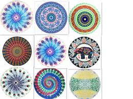 copertine classiche di caramelle Sconti Asciugamani Mandala Stampato Tapestry Hippy Tovaglia Boho Tovaglioli Tovaglioli Spiagge Scialle Wrap Telo da spiaggia stile MutiD105