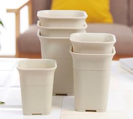 Vente en gros de céramique simulant un pot de fleur succulent carré pour la maison intérieure, la serre et le jardin extérieur ? partir de fabricateur