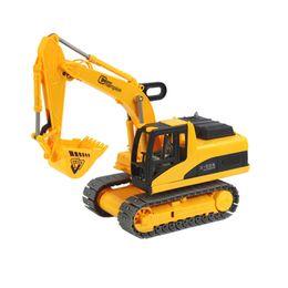Wholesale Toy Model Excavators - Chain belt excavator Children's inertial truck the simulation engineering toys the best gift for children No.9998-9