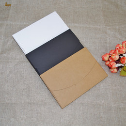 Wholesale Envelopes For Greeting Cards - 30pcs LxWxD: 16x10.5cmx0.5cm Vintage Kraft Paper Envelope For Postcards Greeting Card Cover Photo Box Stationery office Supplies