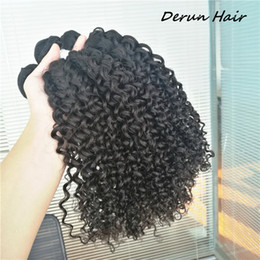 Wholesale Indian Jerry Curl Weave - Brazilian Malaysian Peruvian Indian Jerry curl virgin human hair 3 bundles hair wefts unprocessed human hair