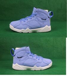 save off a510f 8d9f5 Wholesale neue 7 VII gs pantone blau frauen basketball schuhe sport  designer turnschuhe 7s hohe hochwertige größe 36-40