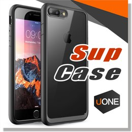 Wholesale Bumper Case Retail Packaging - Supcase for iPhone 7 Plus Cases Unicorn Beetle Hybrid Scratch Resistant Clear Bumper Case Cover for iPhone 7 Case with retail package
