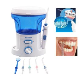 Wholesale Dental Water Cleaner - Dental Oral Irrigator + Water Flosser with 7Pcs Jet Tip & 600ML Water Tank for Dental Care & Tooth Cleaning