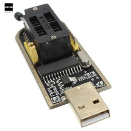 Wholesale New Dvd Series - USB Programmer CH341A Series Burner Chip 24 EEPROM BIOS Writer 25 SPI Flash NEW Electronic Module Board