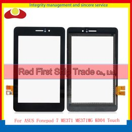 Wholesale Asus Me371mg - For ASUS Fonepad 7 ME371 ME371MG K004 Tablet PC Touch Screen With Digitizer Sensor Panel Front Glass Lens Black