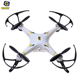 Wholesale Hot Rc - Wholesale- Hot Sale Huanqi 894 2.4G 4CH 6-Axis Gyro RTF Professional RC Aircraft Remote Control Mini Quadcopter Drone Toy