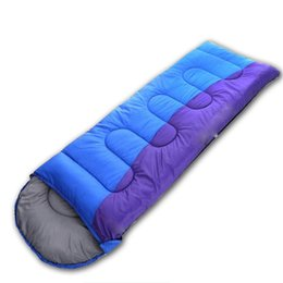 konvexes kissen Rabatt Mode Erwachsene Camping Schlafsack Outdoor Verdickte Winter Umschläge Schlafsack Reise Verstärktes Doppelschlafsack