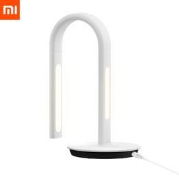 Argentina Al por mayor-Original Xiaomi Mijia Smart DeskLamp LED lámpara de mesa de luz 2nd DeskLamp lámpara de mesa Desklight Dual Light Support Aplicación de teléfono móvil supplier xiaomi lamp Suministro