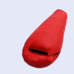 Wholesale Duck Down Adult Sleeping Bag - Wholesale- 400g 600g 800g 1000g 1200g of duck down sleeping bag ultralight adult splicing outdoors sleeping bag