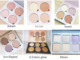 Wholesale Blush Color Palette - 2016 Pink Glow Kit ULTIMATE GLOW kit Makeup Face Blush Powder Blusher Palette Cosmetic Gleam That Glow Sun Dipped Sweets ULTIMATE GLOW Moon