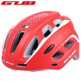 Wholesale Bike Visor - GUB Ciclismo Ultralight 19 air vents Cycling MTB Mountain Road Bicycle Bike Helmet Women Men Integrally-molded Visor EPS+PC +B