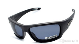 Wholesale Ballistic Glasses - 2017 Hot Sale ESS CREDENCE Ballistic Sunglasses Military Eyewear Tactical Shooting Glasses Polarized Not Ess Crossbow ICE
