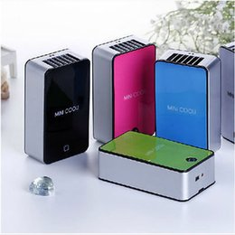 Wholesale Battery Air Fans - PORTABLE MINI AIR CONDITIONER FAN RECHARGEABLE BATTERY USB FOR SUMMER