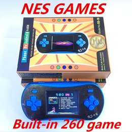Wholesale Gba Box - Game Console Handheld 8-Bit Built-in 260 Games FC NES GBA Games PVP PXP3 With a Retail Box