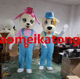 Wholesale Custom Hot Dog Costume - Lovers' dog hot sale dog mascot costume party fancy dress with high quality dog cartoon costume mascot
