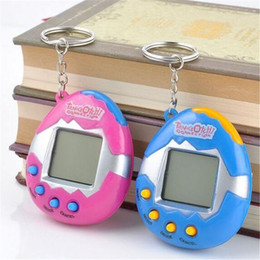 Wholesale Retro Items - Novelty Items Funny Toys Vintage Retro Game 49 Pets In One Virtual Pet Cyber Toy Tamagotchi Digital Pet Child Toy Retro Game Kids