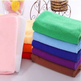 Wholesale car wash wipes - Absorbent Car Towel 30*70 cm Absorbent Superfine Fiber Kitchen Oil Wipe Car Wash Towels Microfiber Cleaning Tools Kitchen Accessories