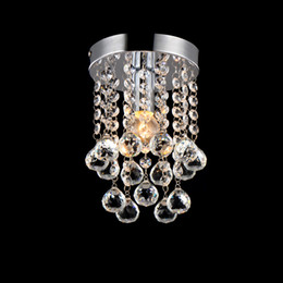 Wholesale Chrome Kitchen Pendant Light - Luxury crystal chandelier lighting meerosee lighting Chrome lustre fixtures free shipping MD3038 D150mm H230mm Newest Fashion