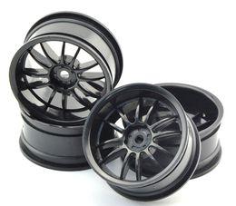 Wholesale Rc Traxxas Truck - 4pcs Plastic Wheel Rims For 1 10 RC Car Traxxas Axial Kyosho