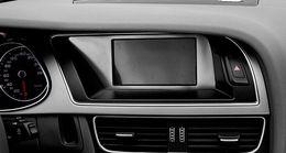 Style de voiture Console centrale navigation cadre décoratif enjoliveur enjoliveur témoin intérieur bande en acier inoxydable pour Audi A4 ? partir de fabricateur