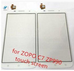 Wholesale Zopo Touch - Wholesale- Touch Screen Digitizer Glass Panel for ZOPO C7 ZP990 + zp990