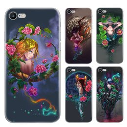 Wholesale Blackberry Case Cartoon - For iphone 7 plus 6s plus TPU case Twelve constellations Cartoon Scrub Painting Cell Phone Cases colorfully silicone protector cases