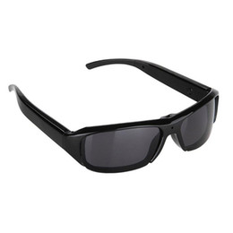 Wholesale Hd Camera Glasses Sports - 32GB HD 1080P Glasses Spy Camera Sunglass DVR Video Recorder Eyewear Hidden Sport DV Eyewear Cam
